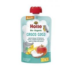 Croco Coco Puré Frutos Bio 8M - Holle (100g) 1