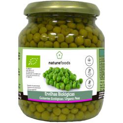 Ervilhas Cozidas Bio - Naturefoods (350g)