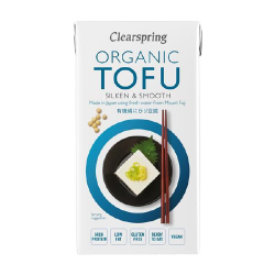 Tofu bio doux et velouté - Clearspring (300g)