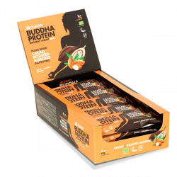 Buddha Protein Bar Cacao Almendra Tostada (15x47g)