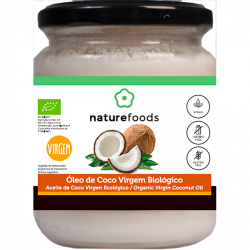 Organic Coconut Virgin Oil - Naturefoods (200g)   Iswari © 1