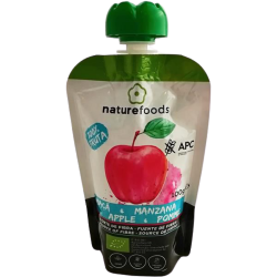 Organic Apple Pulp - Naturefoods (100g)