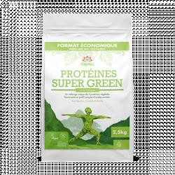 Protéines Super Green 2,5kg