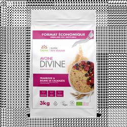 Avoine Divine Cacahuète et Framboise 3 kg