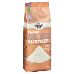 Organic Gluten Free Whole Grain Rice Flour - Bauck Hof (500g) | Iswari ©