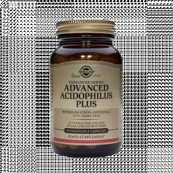 Advanced Acidophilus Plus - Solgar (60 caps) 1