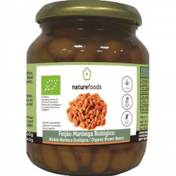 Alubia manteca cocida bio - Naturefoods (360g) 1