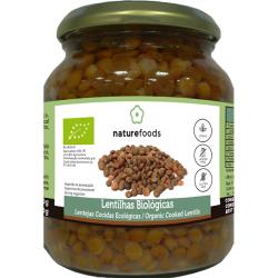 Organic Boiled Lentils - Naturefoods (360g) 1