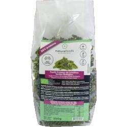 Organic Protein Green Lentils Fusilli - Naturefoods (250g)