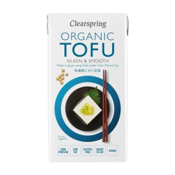 Organic Tofu Silken and Smooth - Clearspring (300g)