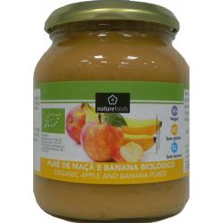 Organic Apple and Banana Puree - Naturefoods (350g) 1