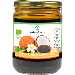 Organic Coconut Flower Syrup - Naturefoods (500g)