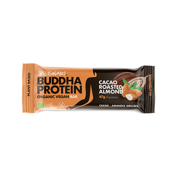 Buddha Protein Bar Cocoa and Roasted Almonds (15x47g) 2