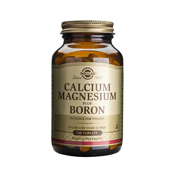 Cálcio Magnésio Boro - Solgar (100 caps) 1