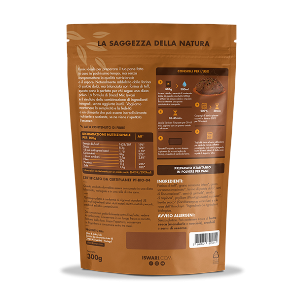 Bread mix - Paleo Bio 2