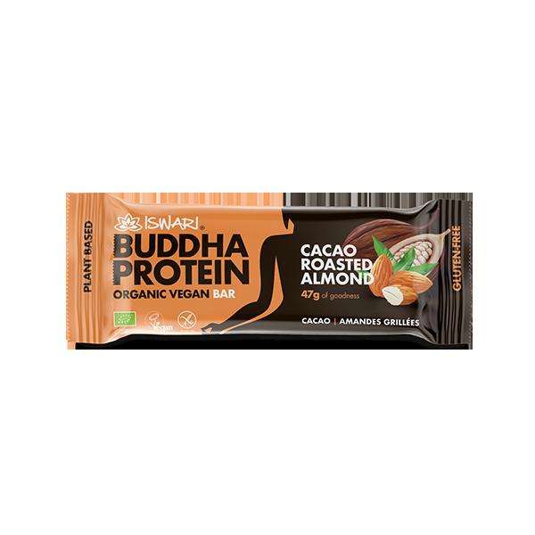 Buddha Protein Bar Cacao Almendra Tostada (15x47g) 2