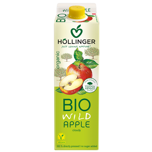Organic Apple Juice - Hollinger (1L) 1