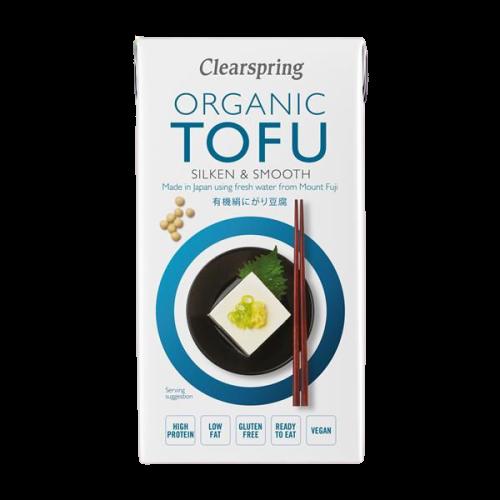 Organic Tofu Silken and Smooth - Clearspring (300g) 1