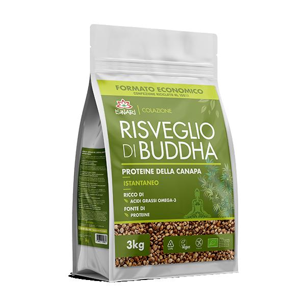 Risveglio di Buddha Proteine della Canapa 3Kg 2
