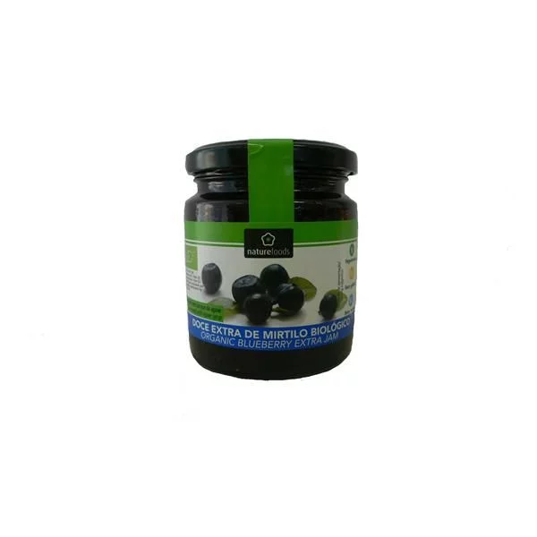 Doce Extra Mirtilo Bio - Naturefoods (260g) 1
