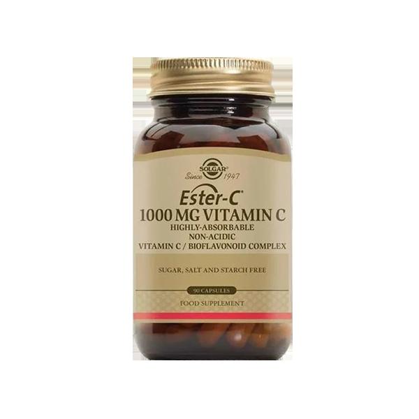 Ester-C Plus 1000 MG - Solgar (90 comprimidos) 1