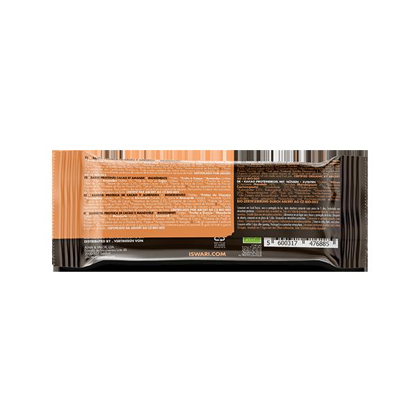 Buddha Protein Bar Cacao Mandorle Tostate (15x47g) 3
