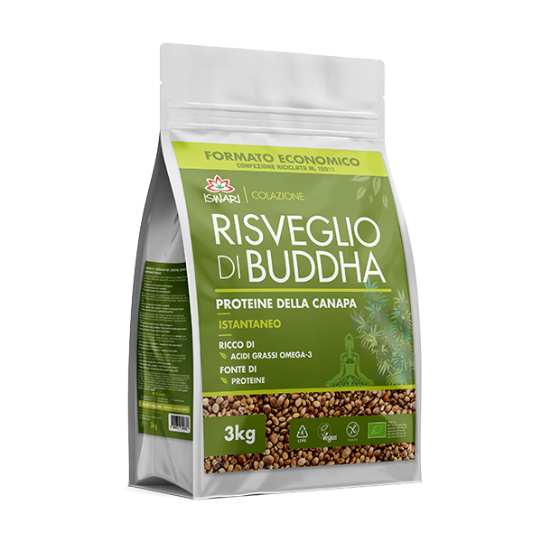 Despertar de Buda Proteína de Cáñamo 3Kg 2