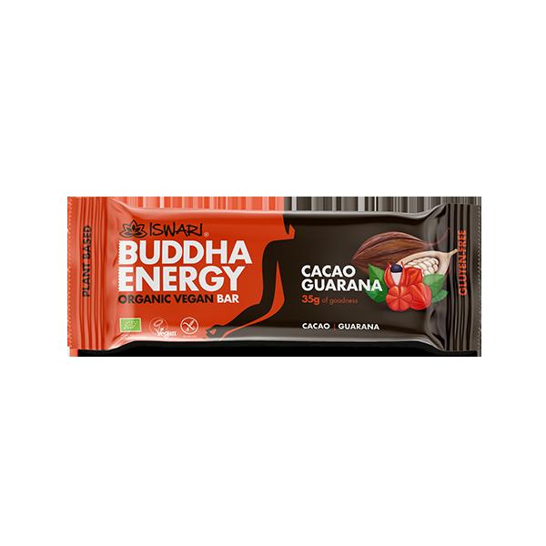 Buddha Energy Bar Cacao Guaranà (15x35g) 2