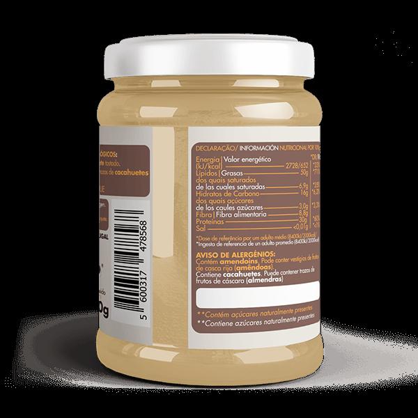 Manteiga de Amendoim Cremosa Bio 2
